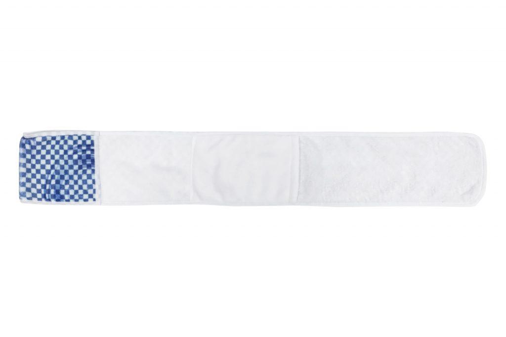 保冷剤用ポケット付きマフラータオル