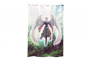 オリジナルデザインシャワーカーテン 同人グッズ 製作 印刷