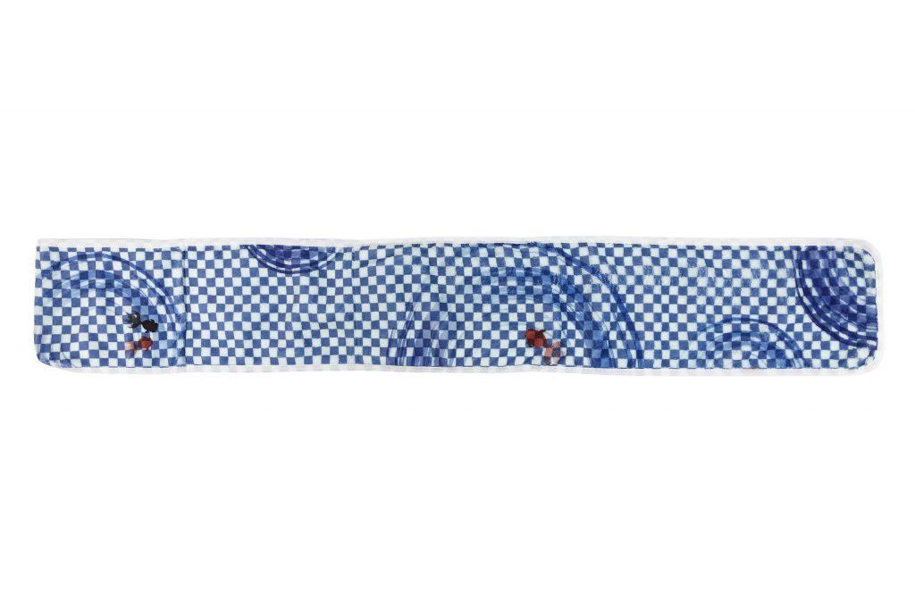 保冷剤&カイロ用ポケット付きマフラータオル