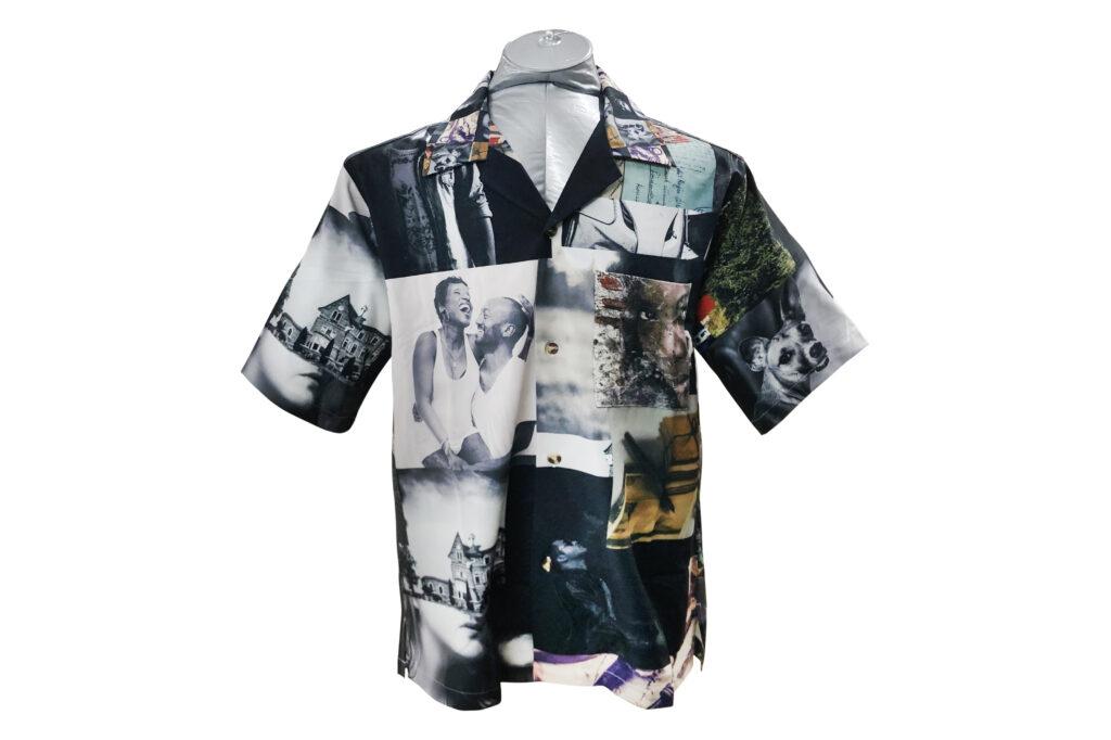 フルカラー昇華転写開襟シャツ 印刷 製作 同人グッズ オリジナルデザイン